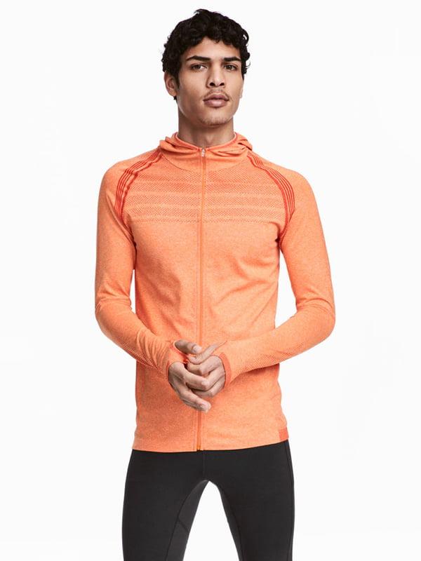 Куртка для бігу помаранчева | 5168807