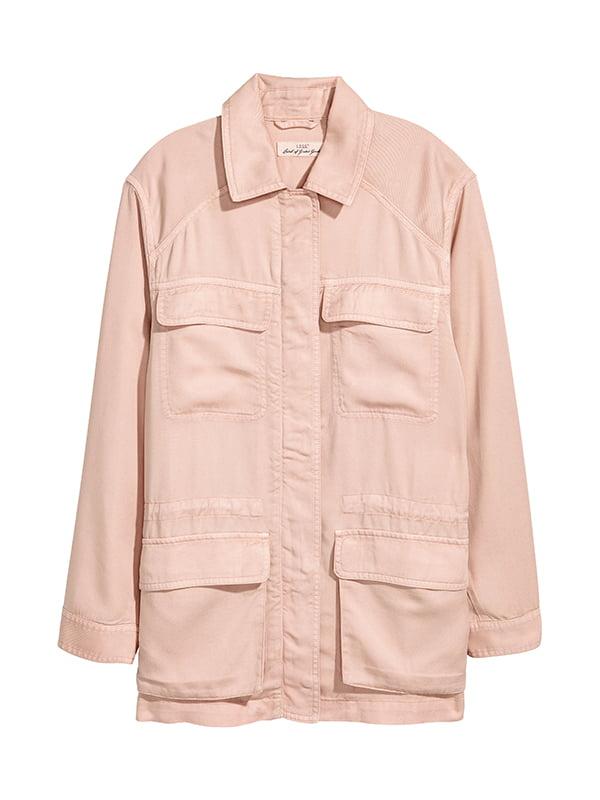 Куртка кольору пудри   5168822