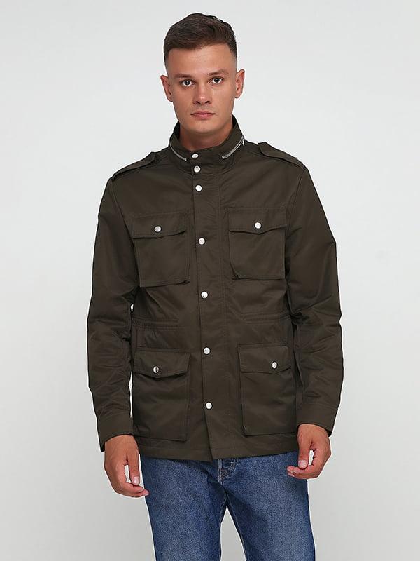 Куртка кольору хакі | 5168875