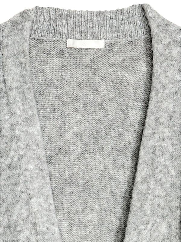 Кардиган светло-серый | 5168954