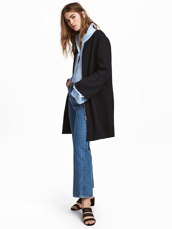 Пальто темно-синє | 5169174