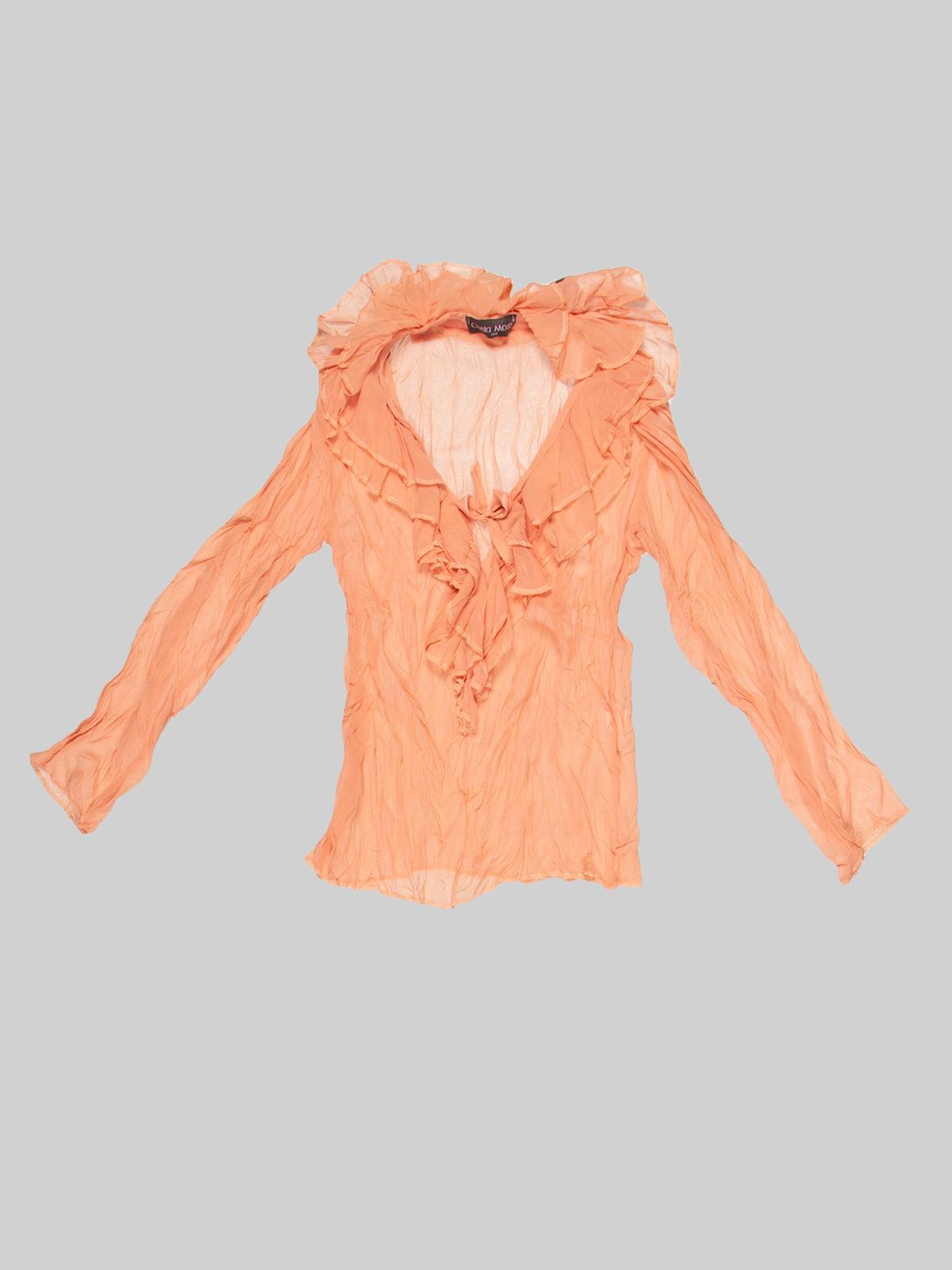 Блуза оранжевая | 2913310