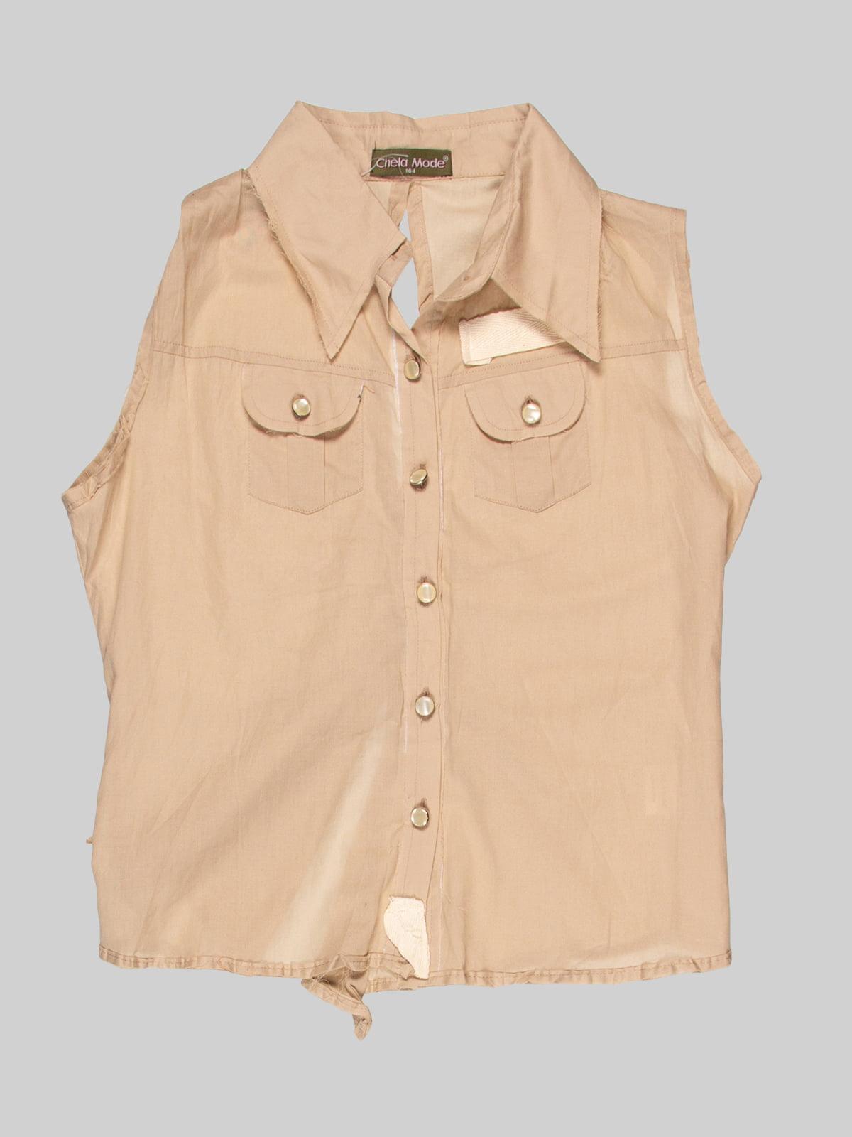 Блуза бежева | 3168540