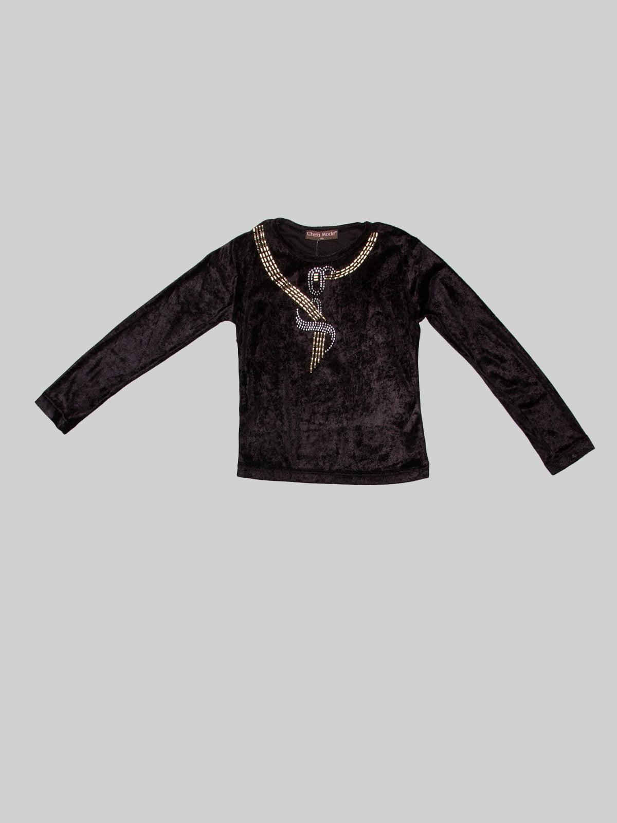 Джемпер чорний | 3168430