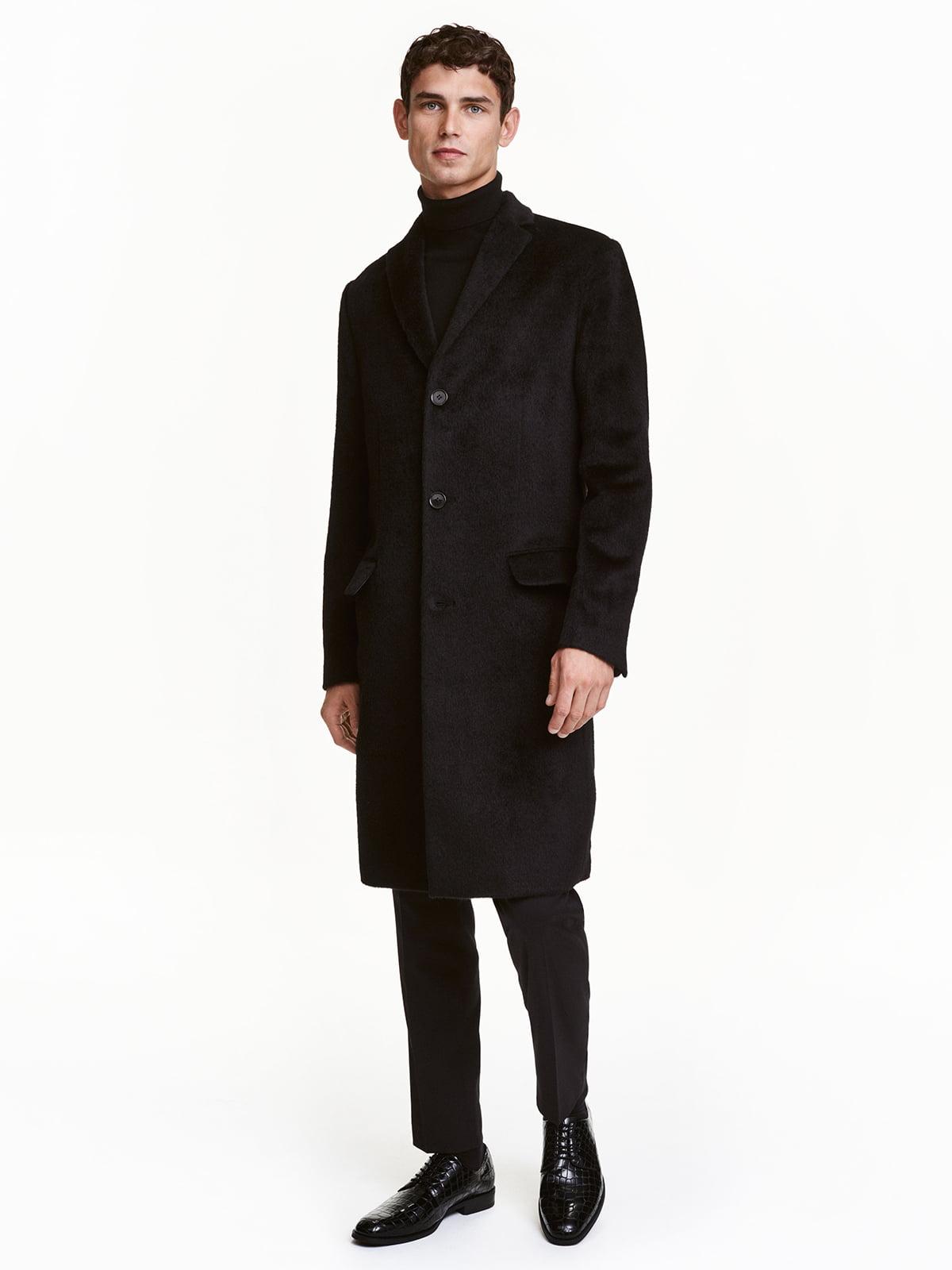 Пальто чорне | 5168430
