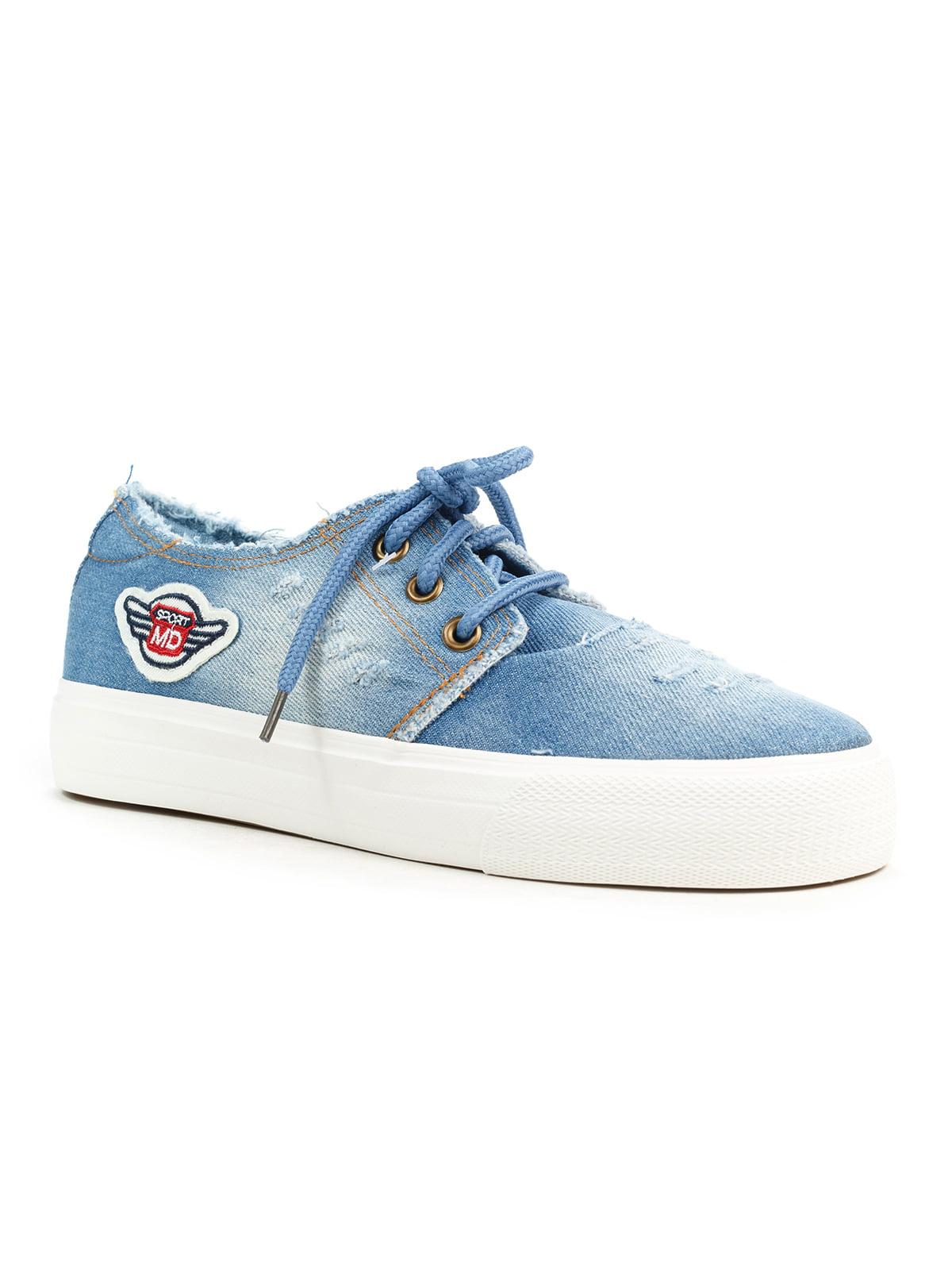 Кеды голубые   5169446
