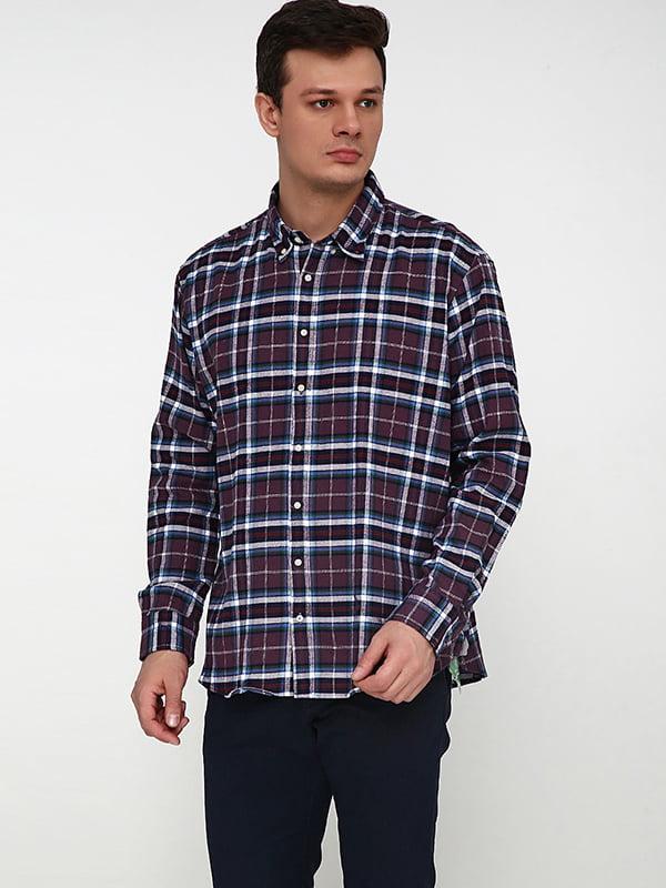 Рубашка комбинированной расцветки   5170307