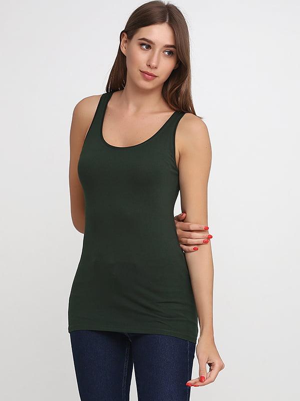 Майка темно-зеленая | 5170587