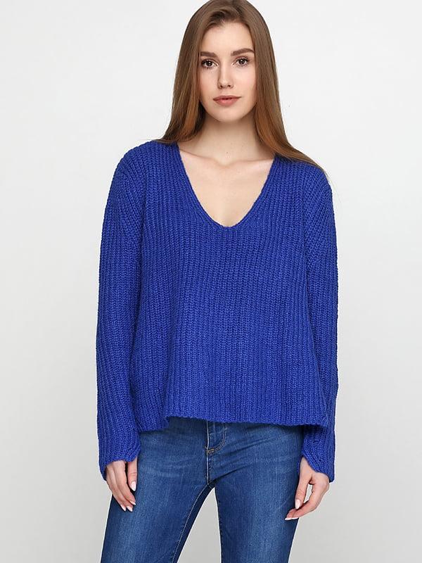 Пуловер синий | 5171264