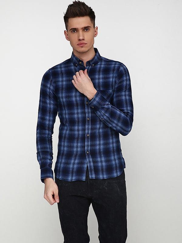 Рубашка синяя   5171360