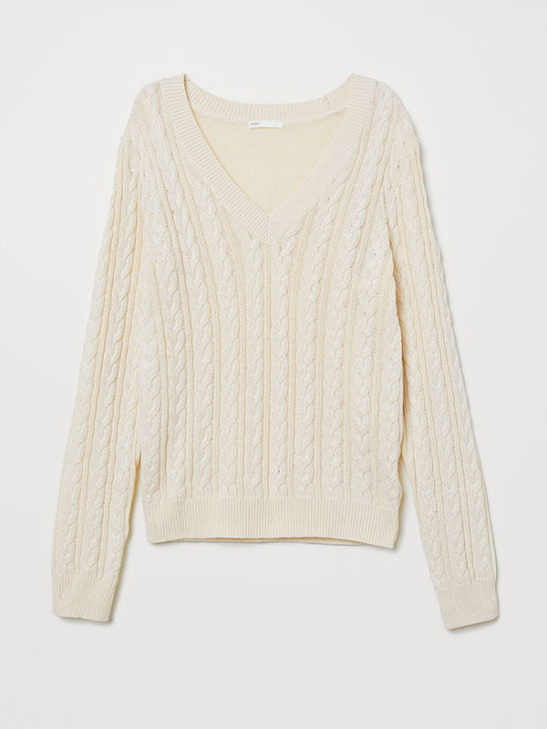Пуловер светло-бежевый | 5171611