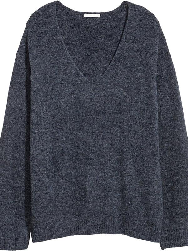 Пуловер темно-синий | 5172395