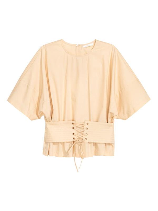 Блуза бежева | 5172534