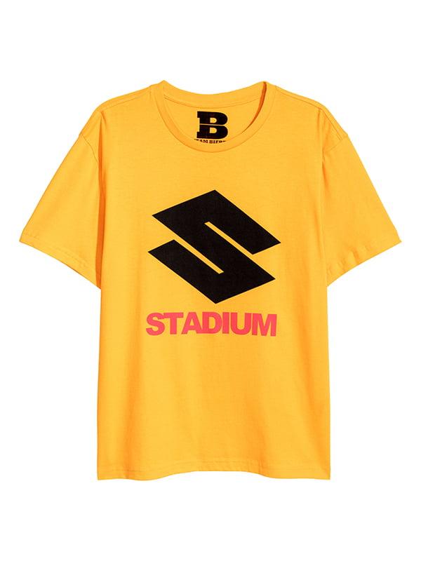 Футболка желтая | 5172650