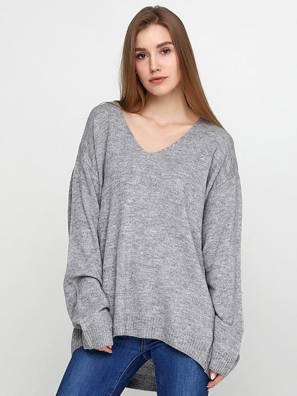 Пуловер серый | 5173362