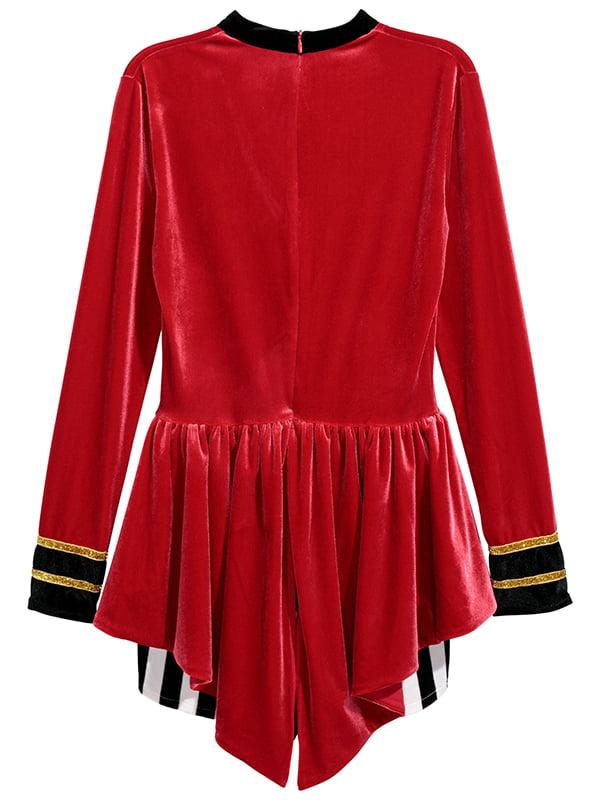 Карнавальный костюм красный   5173383
