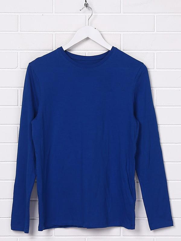 Лонгслив синий | 5173412