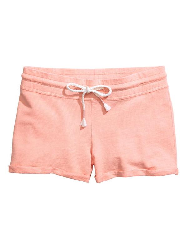 Шорты персикового цвета   5170914