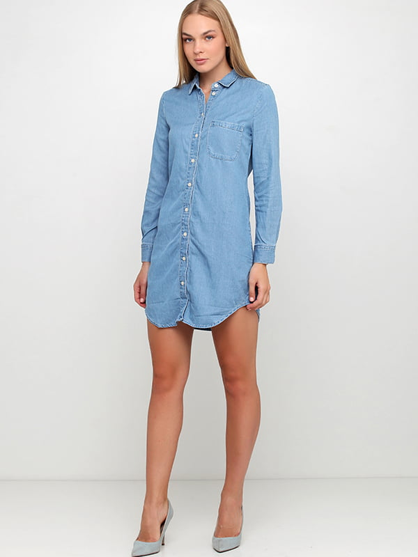 Платье голубое | 5170950