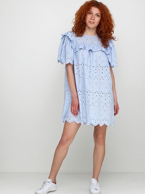 Платье голубое | 5171213