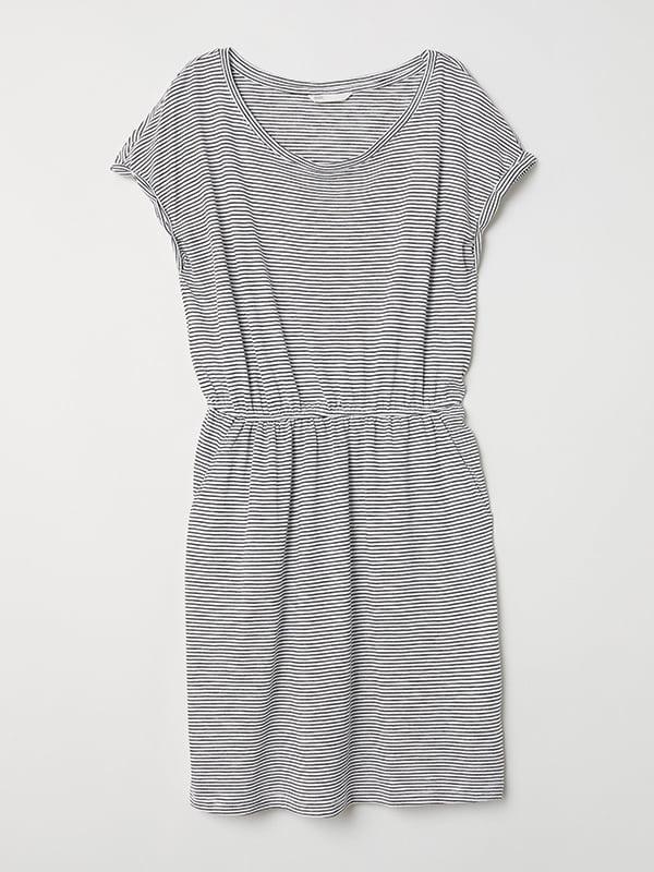 Платье черно-белое   5171218