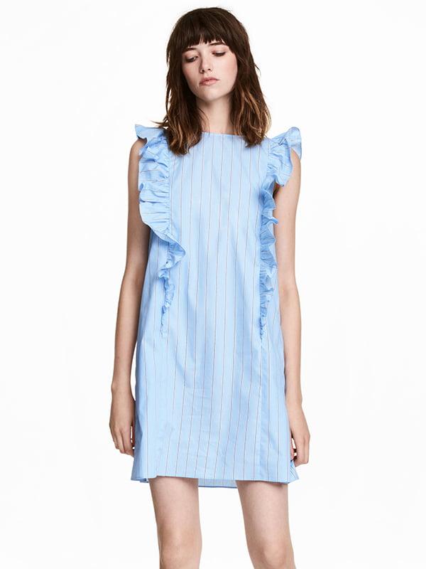 Платье голубое   5171237