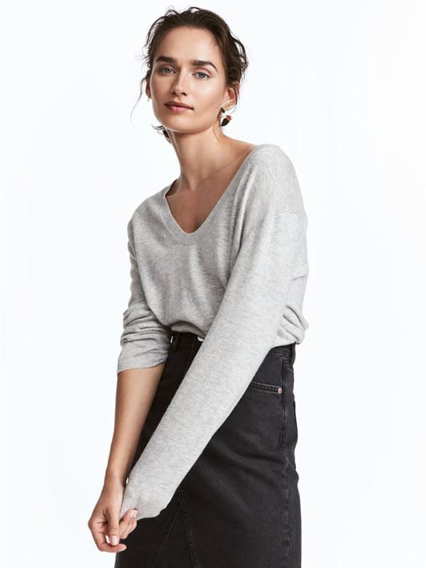 Пуловер серый | 5171238