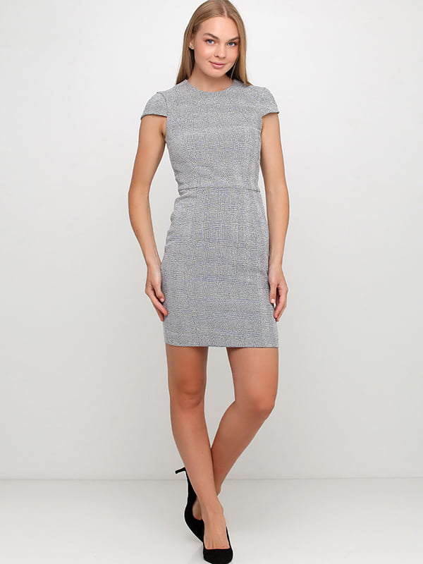 Платье черно-белое | 5171321