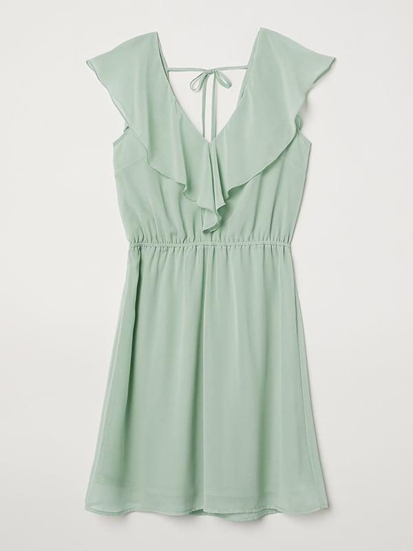 Платье светло-зеленое | 5171386