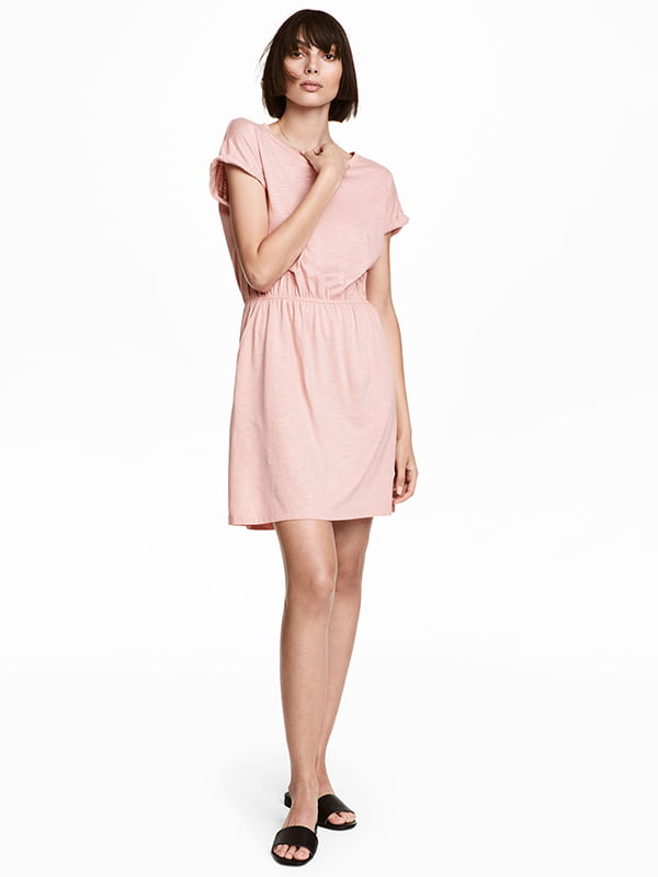 Платье цвета пудры | 5171660