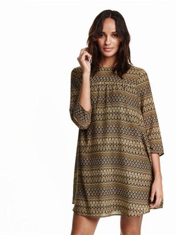 Платье комбинированной расцветки | 5171767