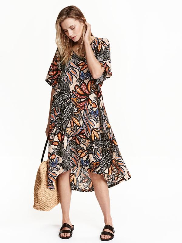 Платье комбинированной расцветки | 5171798