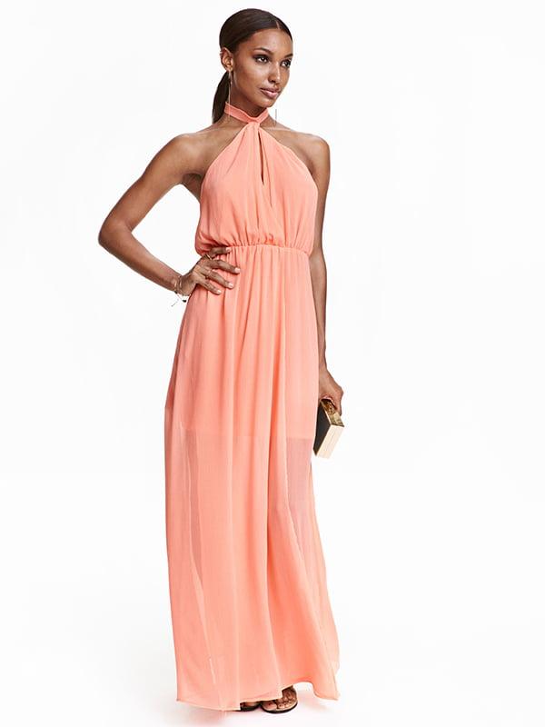 Платье персикового цвета | 5171813