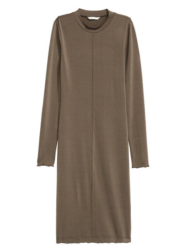 Платье цвета хаки | 5171845