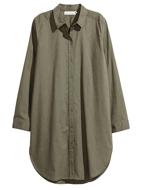 Платье цвета хаки | 5171916