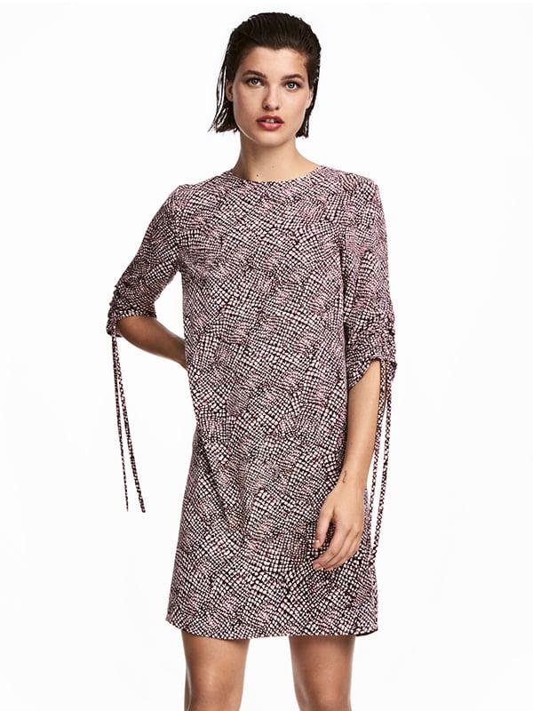Платье комбинированной расцветки   5172313