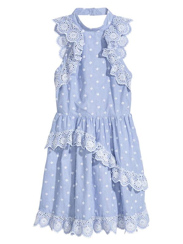 Платье голубое   5172456