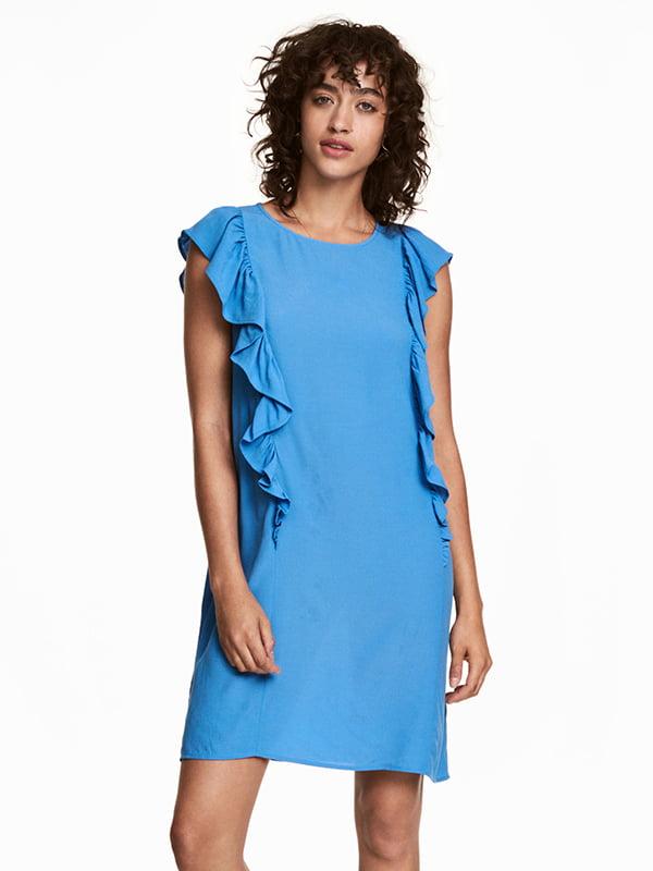 Платье голубое | 5172539