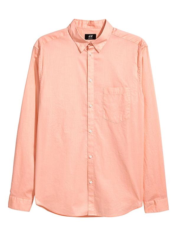 Рубашка персикового цвета | 5173088