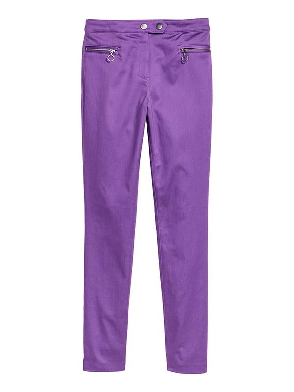 Брюки фиолетовые | 5171158