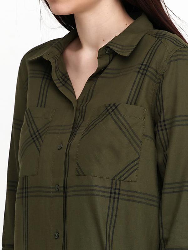 Рубашка зеленая   5171215