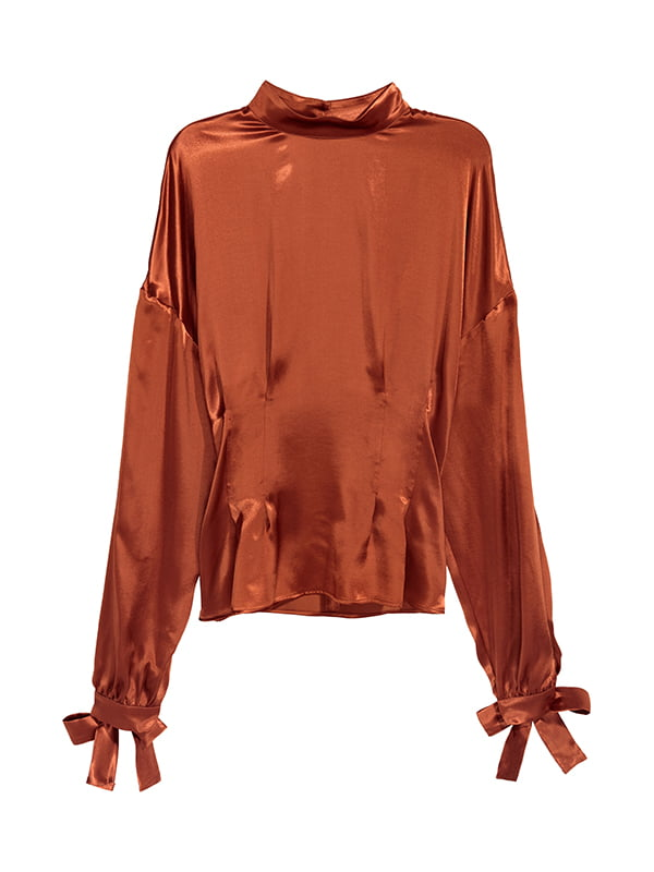 Блуза коричнева | 5171285