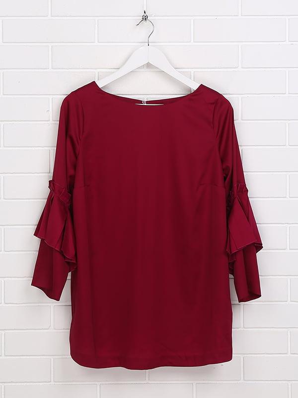 Блуза бордовая | 5171337