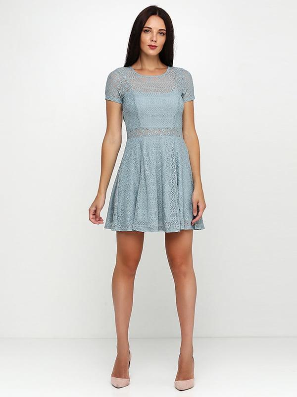 Платье серо-зеленое | 5171432