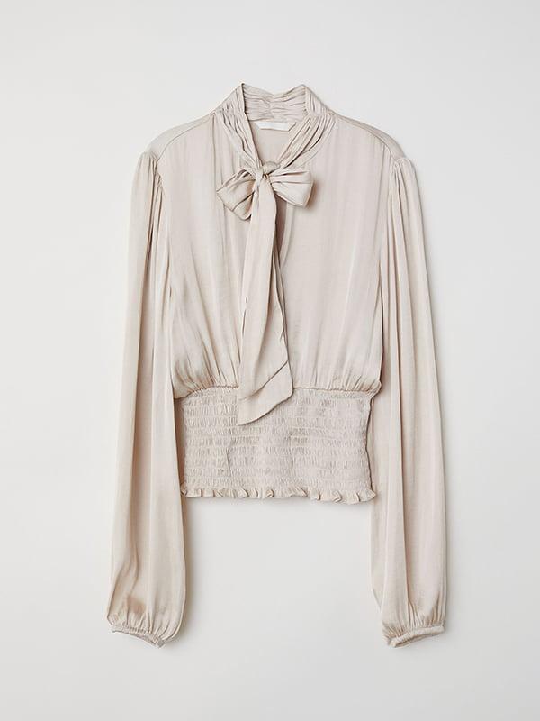 Блуза бежева | 5171564