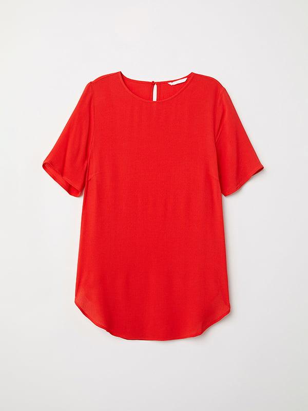 Блуза червона | 5171617