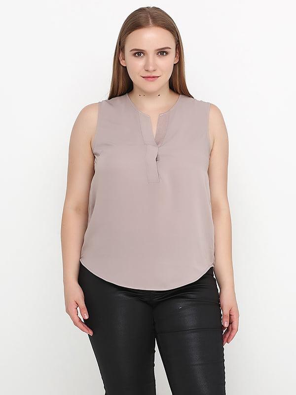 Блуза молочного кольору | 5172277