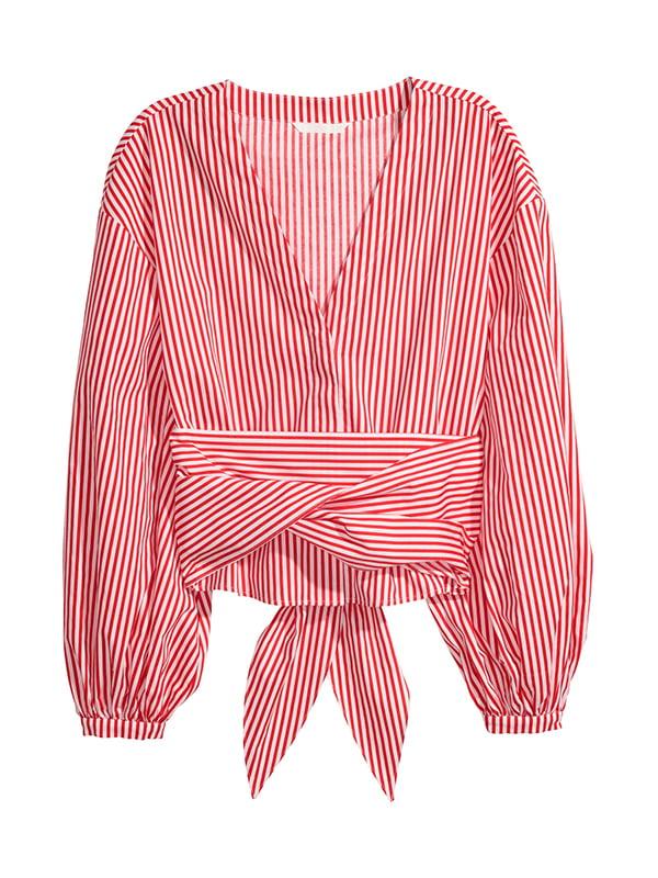 Рубашка бело-красная | 5172447