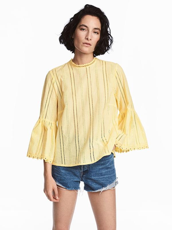 Блуза жовта | 5172485
