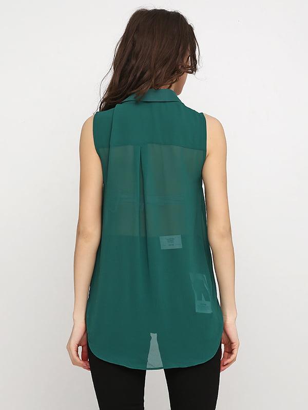 Блуза изумрудного цвета | 5172610